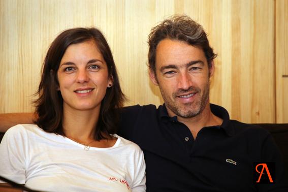 Julie et Cyril Laudet