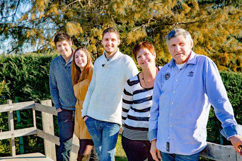 La Famille Della Vedove - Domaine de Bilé - DR.