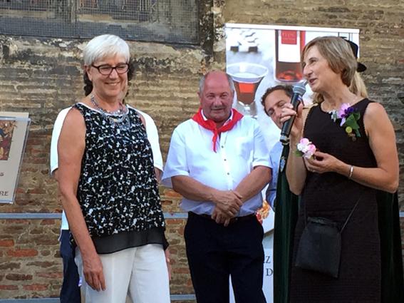 Patricia Tournemine, nouvelle Dame du Floc