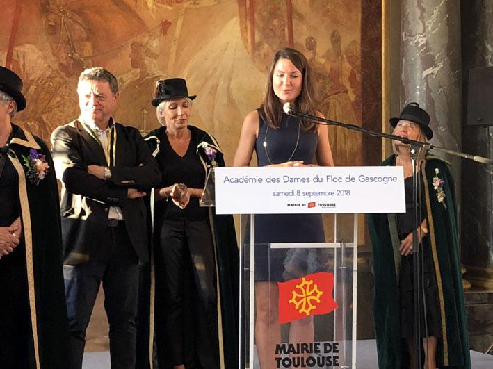 Maguelone Pontier, nouvelle Dame du Floc de Gascogne