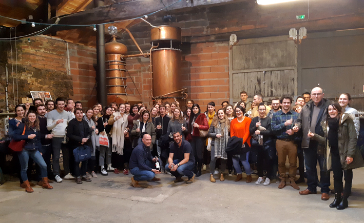 BNIA oenologues Armagnac  Delord