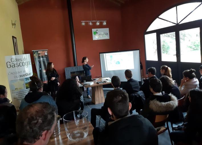 Présentation pédagogique des filières Vins Côtes de Gascogne, Floc de Gascogne et Armagnac