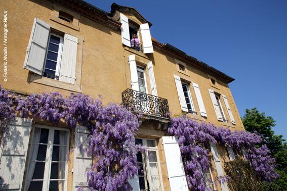 Florence Castarède au Château de Maniban