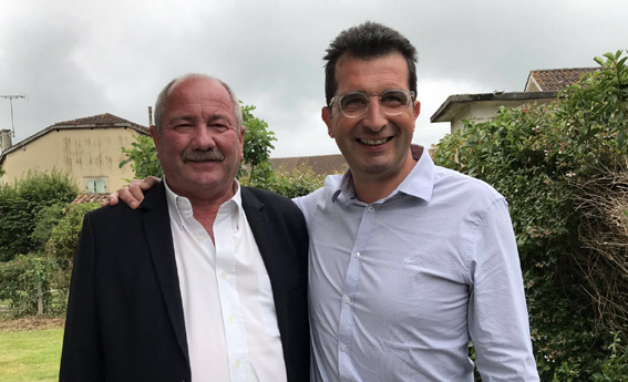 Patrick Farbos et Marc Darroze