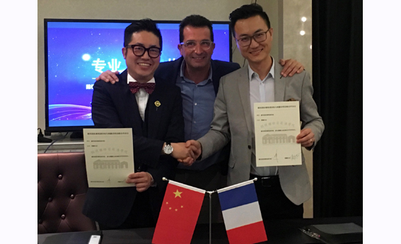 Marc Darroze en Chine - septembre 2019