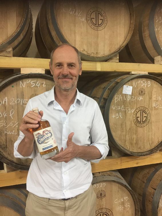 L'armagnac Veuve Goudoulin lance son premier whisky