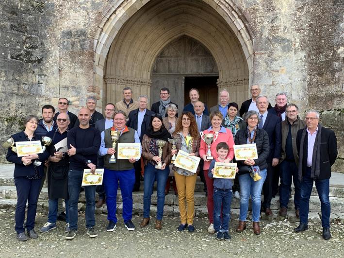 Les lauréats du concours landais