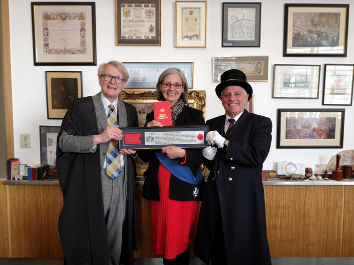 Freedom of the City of London pour Amanda