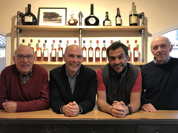 Jacques, Jérôme, Sylvain et Pierre Delord.